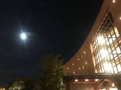キレイなお月さまでした。