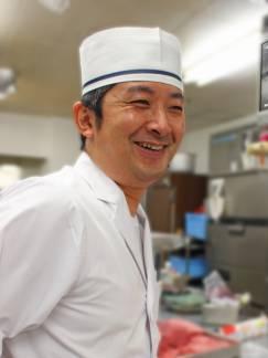 赤沢温泉ホテルレストラン厨房から。